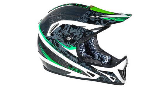 Kali Avatar 2 Carbon DH/FR spinal black green